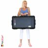1615 Valise AIR Check-In Noire, Loquets PNP, avec Compartiments TrekPak 12