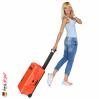 1510 Valise Carry On Orange avec Compartiments 9