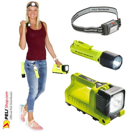 Torches Peli ATEX Zone 1 & Zone 0