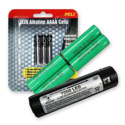 Paquet de Batteries Rechargeables pour Torches Peli