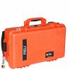 1510 Valise Carry On Orange avec Compartiments 2