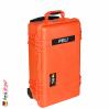 1510 Valise Carry On Orange avec Compartiments 3