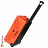 1510 Valise Carry On Orange avec Compartiments 4