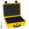iM2200 Valise Peli Storm Jaune avec Compartiments Rembourrés
