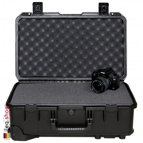 iM2500 Valise Peli Storm Noire avec Mousse en Cubes
